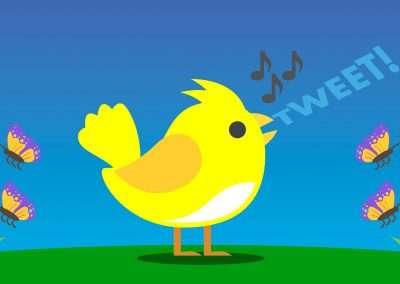 The Piano Takes Flight: Birds & Butterflies