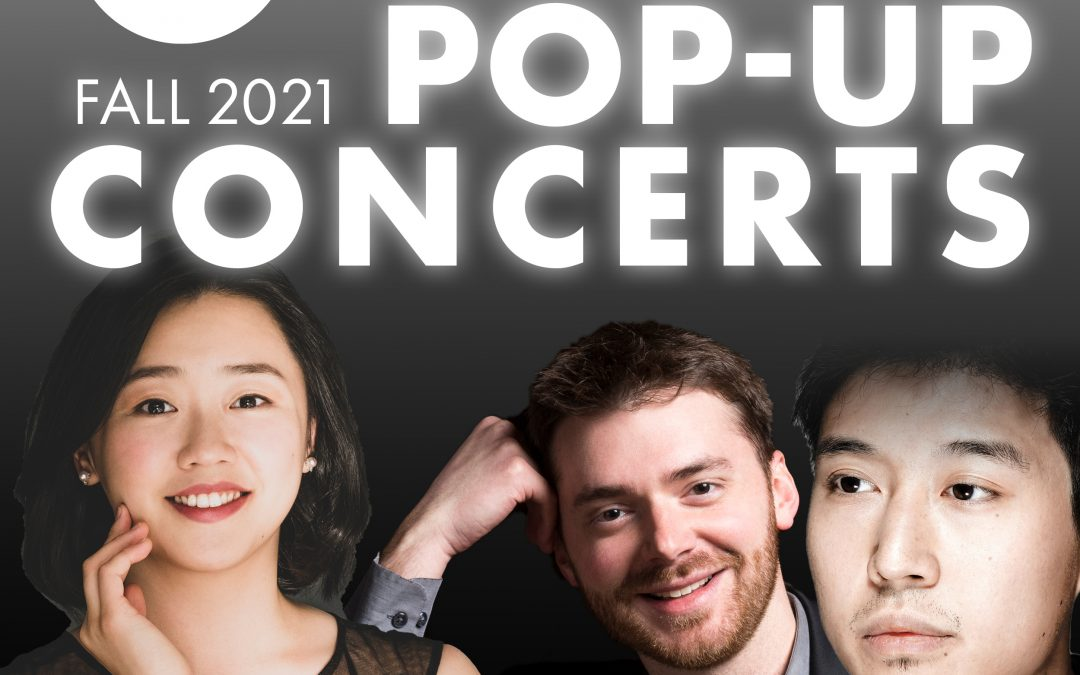CLIBURN POP-UP CONCERTS RETURN THIS FALL